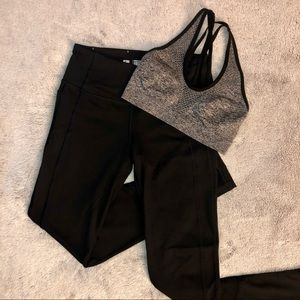 Victoria Sport Sports Bra and Leggings size Medium